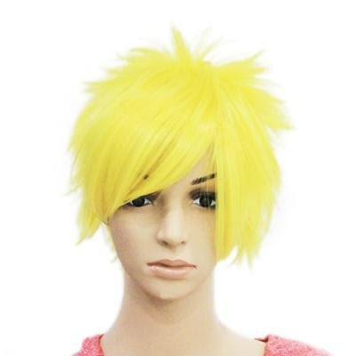 Hot New Fashion Yellow font Short font Natural font Hairstyle font Full