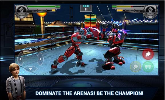 Real Steel Champions v1.0.27 APK Mod