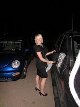 Me Decorating Their Car!
