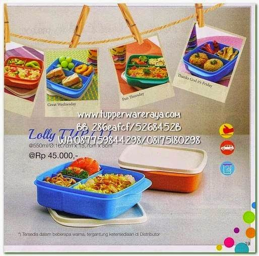 Tupperware Promo April 2015 Lolly Tup