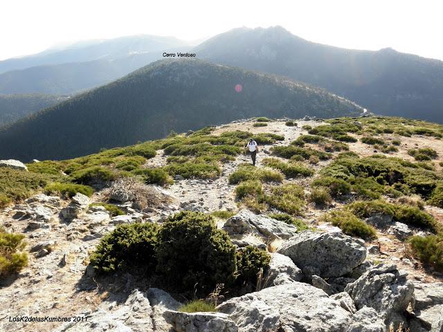 Subiendo al Cerro Minguete