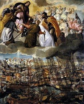"""BATALLA DE LEPANTO (07 de Octubre de 1571) IMPERIO OTOMANO Vs COALICIÓN CRISTIANA """"LIGA SANTA"""""""