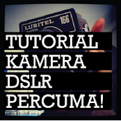 tutorial KAMERA dslr PERCUMA!