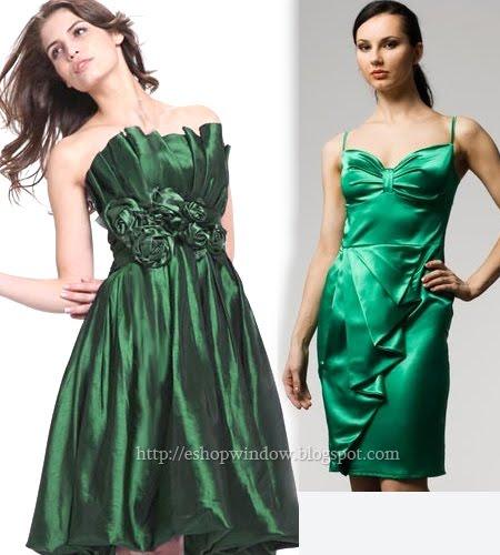 къси зелени рокли