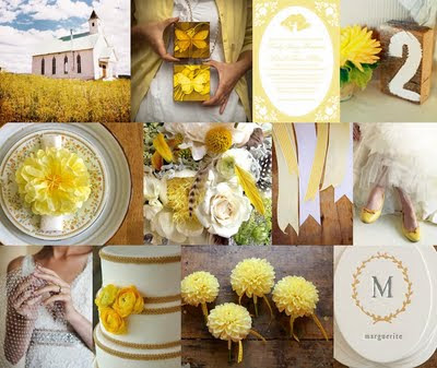 autumn yellow wedding ideas