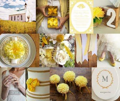 autumn yellow wedding ideas