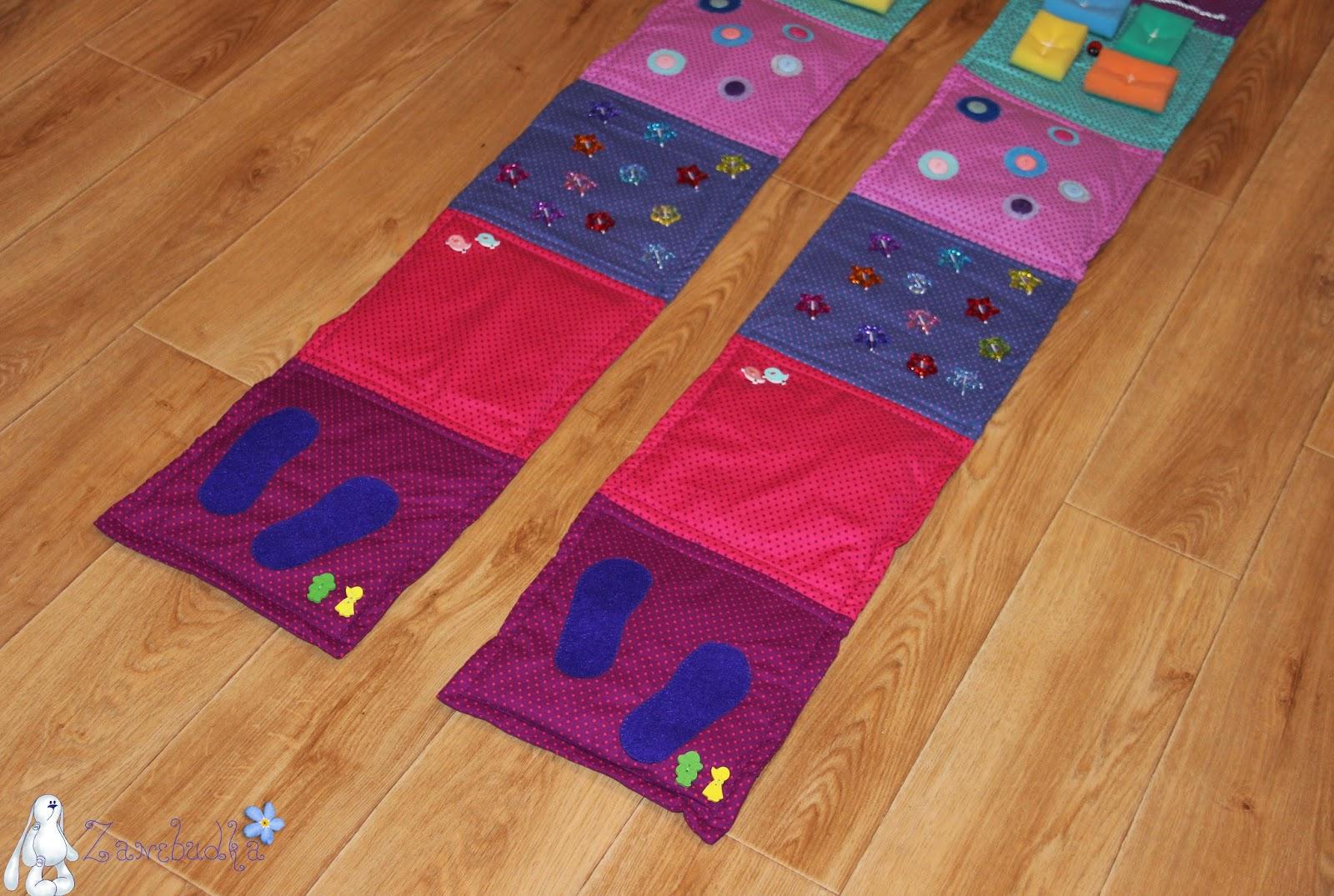 Развивающие коврики для детей своими руками для ног