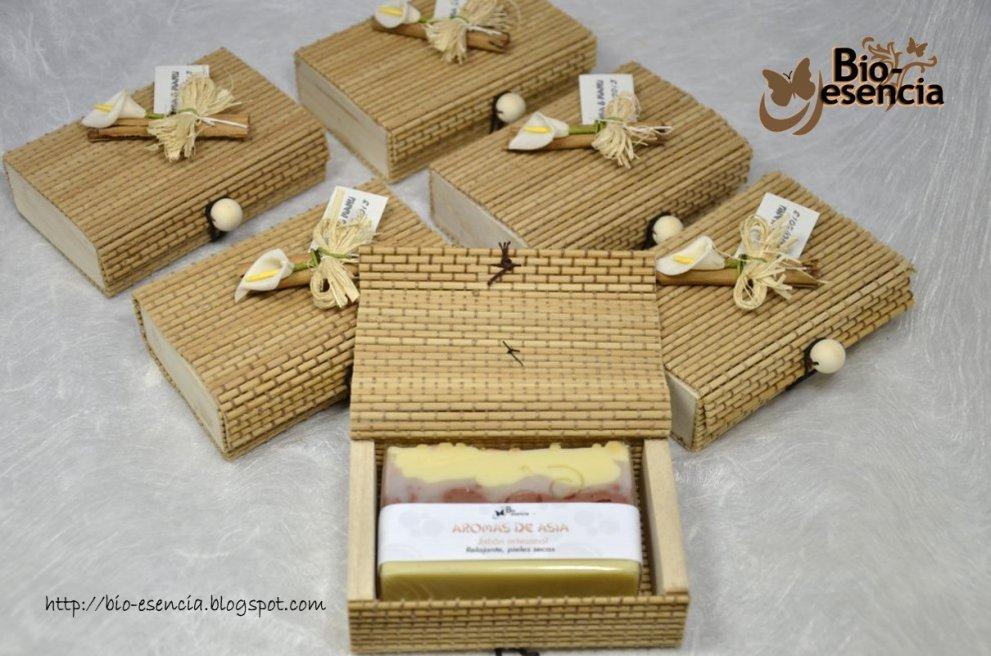 Bio esencia jabones para boda for Como hacer cajas para regalos de boda