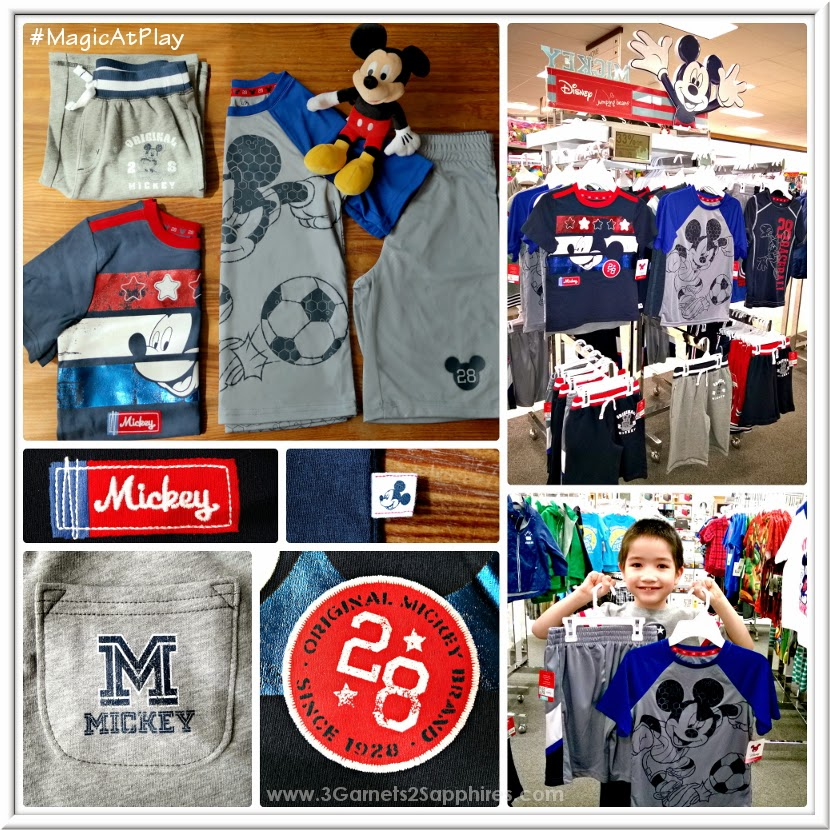 Shopping the new Kohl's Disney Jumping Beans #MagicAtPlay Mickey Mouse Americana Collection