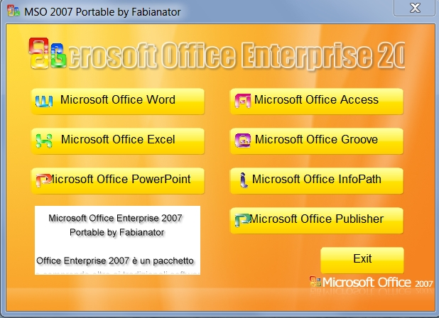 microsoft office portable 32 bit