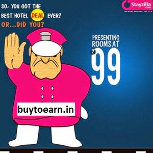Now Book Hotel at Rs. 99 with Stayzilla