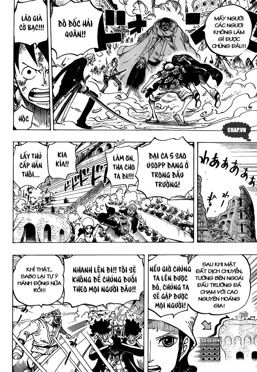 One Piece Chapter 747: Chỉ huy cấp cao Pica 015