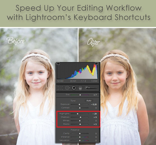 Using Keyboard Shortcuts in Lightroom to Speed Up Your Editing Workflow