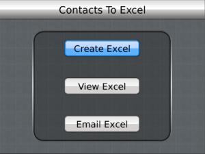 Cara Menyimpan Data Kontak BlackBerry Menjadi Microsoft Excel