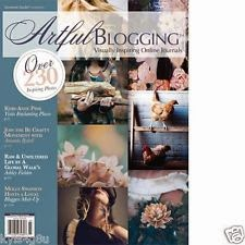Artful Blogging Aug/Sept/Oct 2014