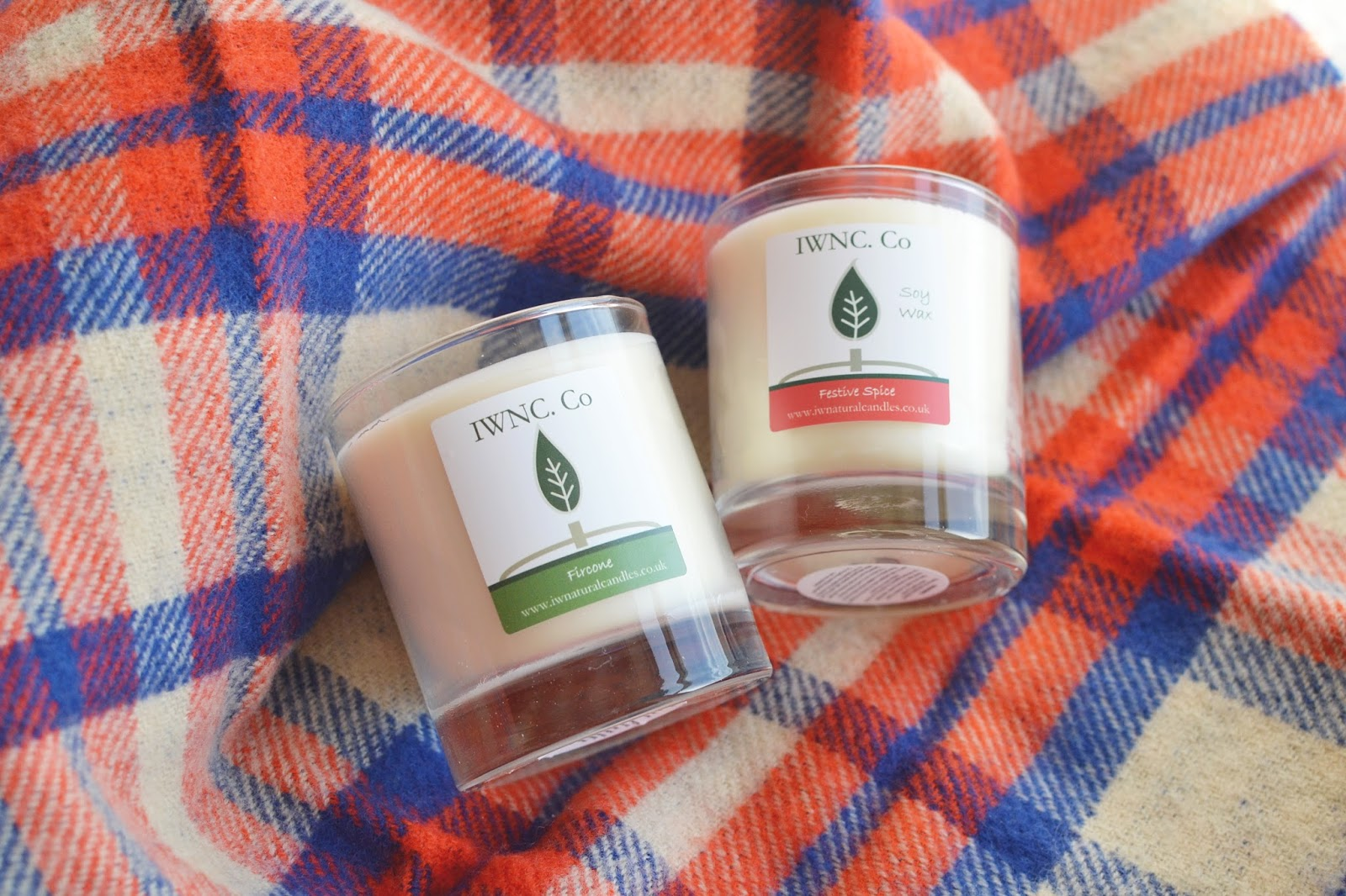winter candles, christmas scented candles