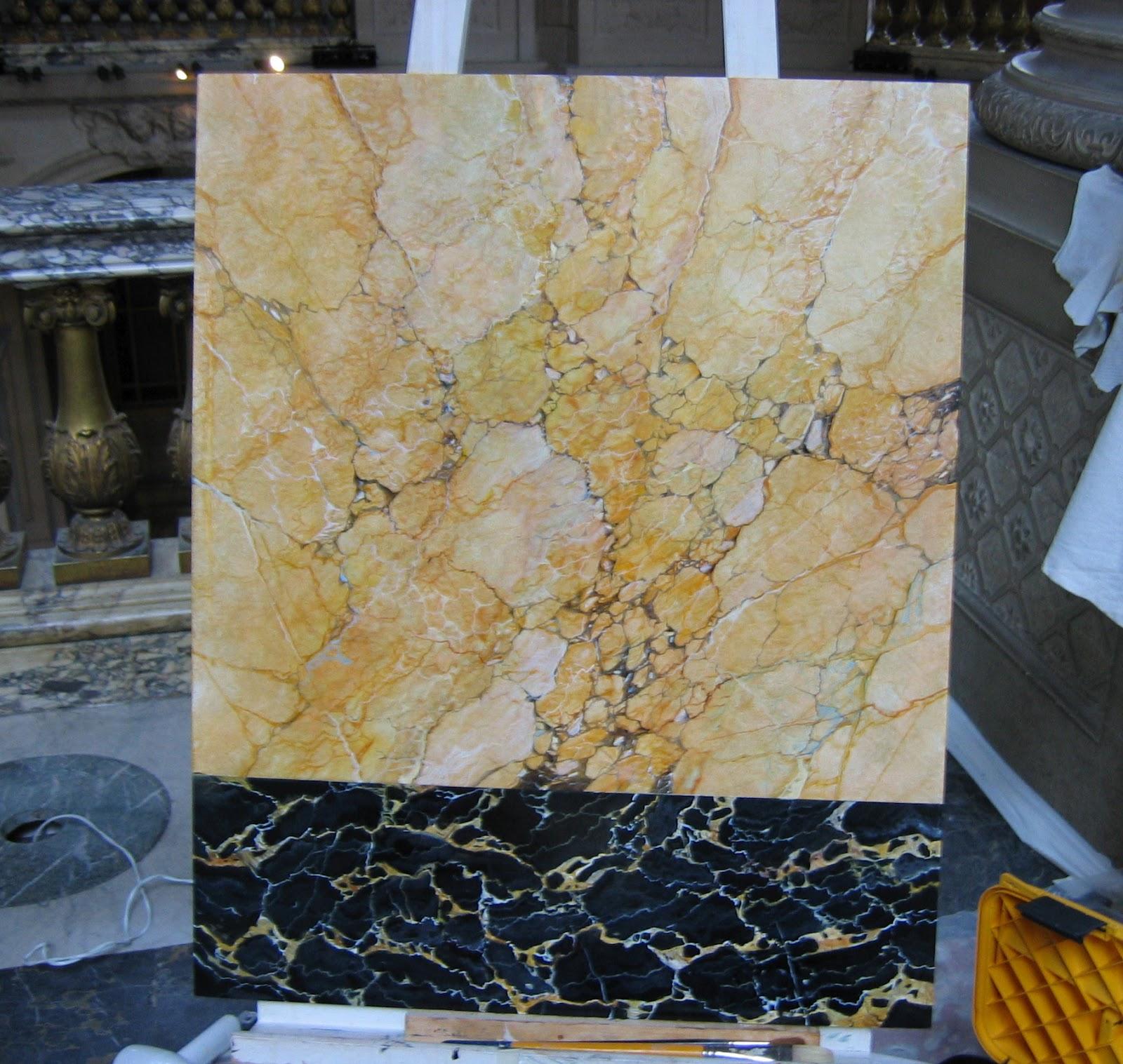 art et techniques de la dorure versailles marbre jaune. Black Bedroom Furniture Sets. Home Design Ideas
