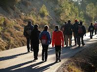Avançant pel Camí de Sant Julià Sassorba