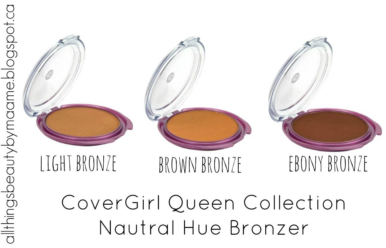 Covergirl Queen Ebenholz Bronzer