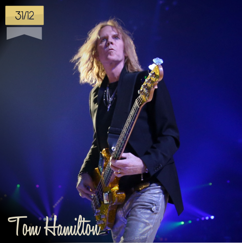 31 de diciembre | Tom Hamilton - @THaerosmith | Info + vídeos