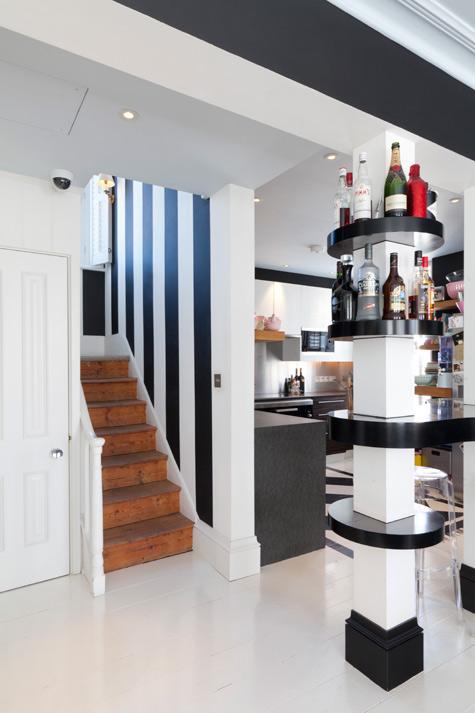 Construindo minha casa clean como decorar colunas no meio - Como decorar una columna ...