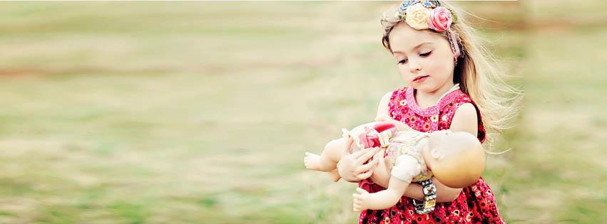 Baby Girl Loves Baby