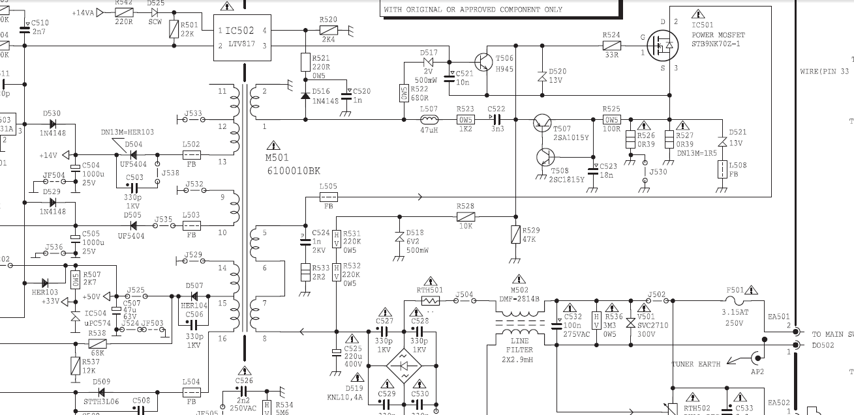 Wiring Diagram Tv Polytron Schematics Diagrams Dvd Vcr Arwis Blog Skema Regulator Rh Awipunna Blogspot Com Kitchen