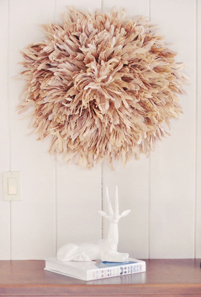 Feather Wall Art Diy African Juju Hat Tutorial Love