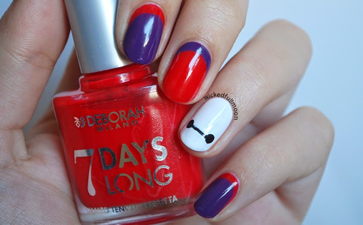 Wicked Fullmoon: | Nail Art | Baymax Big Hero 6
