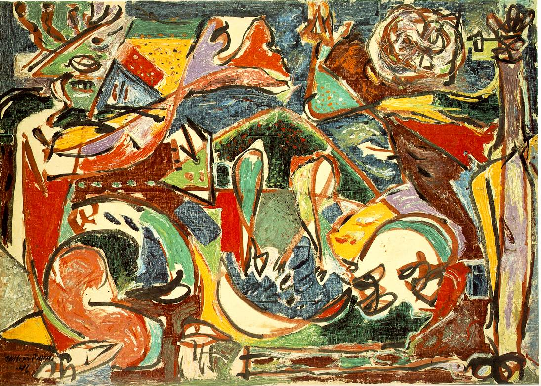 "pollock black single men What builds a forensic case is not any single piece of evidence but a  ""red,  black and silver,"" a painting the estate of jackson pollock's lover,."