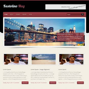 Kastolino Mag blogger template. download seo blogger template. magazine style template blogspot. download 4 column footer blogger template