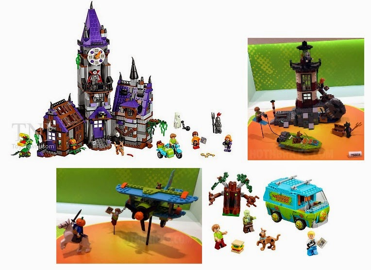 LEGO Scooby Doo sets