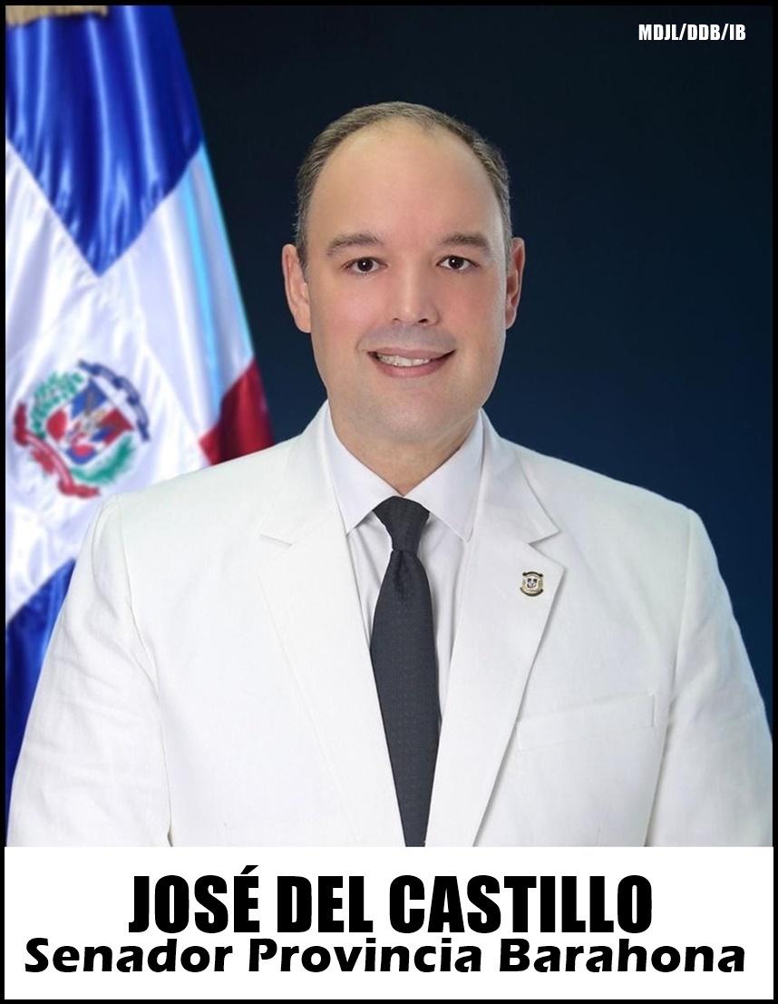 JOSÉ DEL CASTILLO SAVIÑÓN, SENADOR PROVINCIA BARAHONA