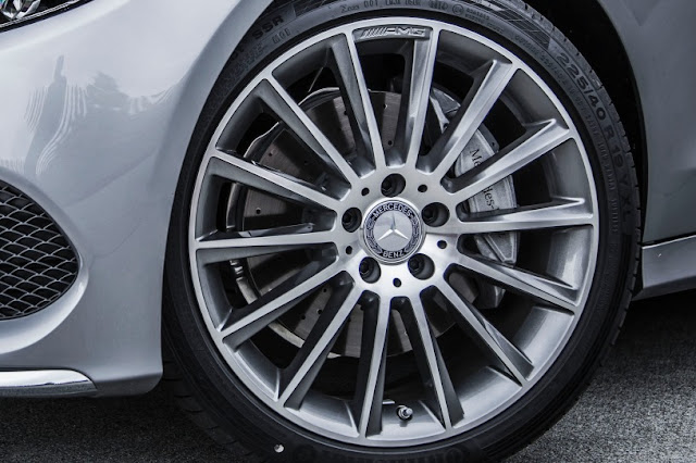 2015 All New Mercedes-Benz C-Class exclusive wheel view