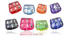 WATCH CASE ORGANIZER (WCO)