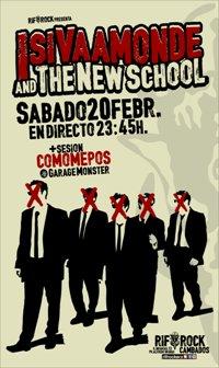 ISI VAAMONDE & THE NEW SCHOOL (20 febr.)