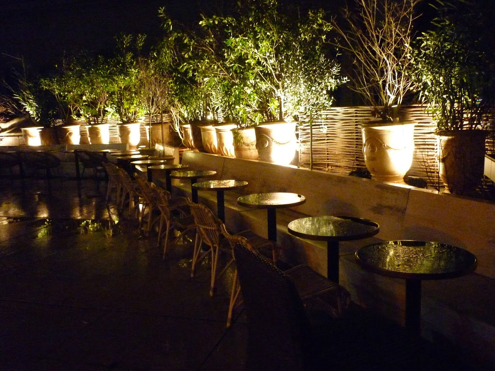 Au Monsieur Bleu - Paris 16ème - restaurant bar terrasse Palais de Tokyo