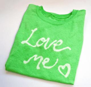 El Yapımı Sevgili Tişörtü