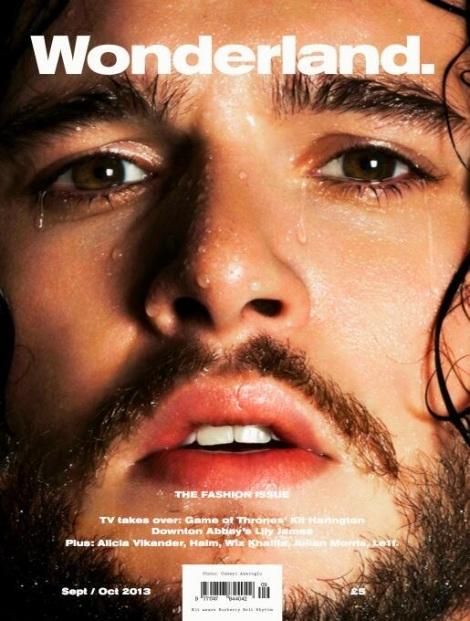 Kit Harington Covers Wonderland Magazine September 2013