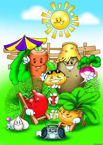 Картинка зеленый горошек для детей