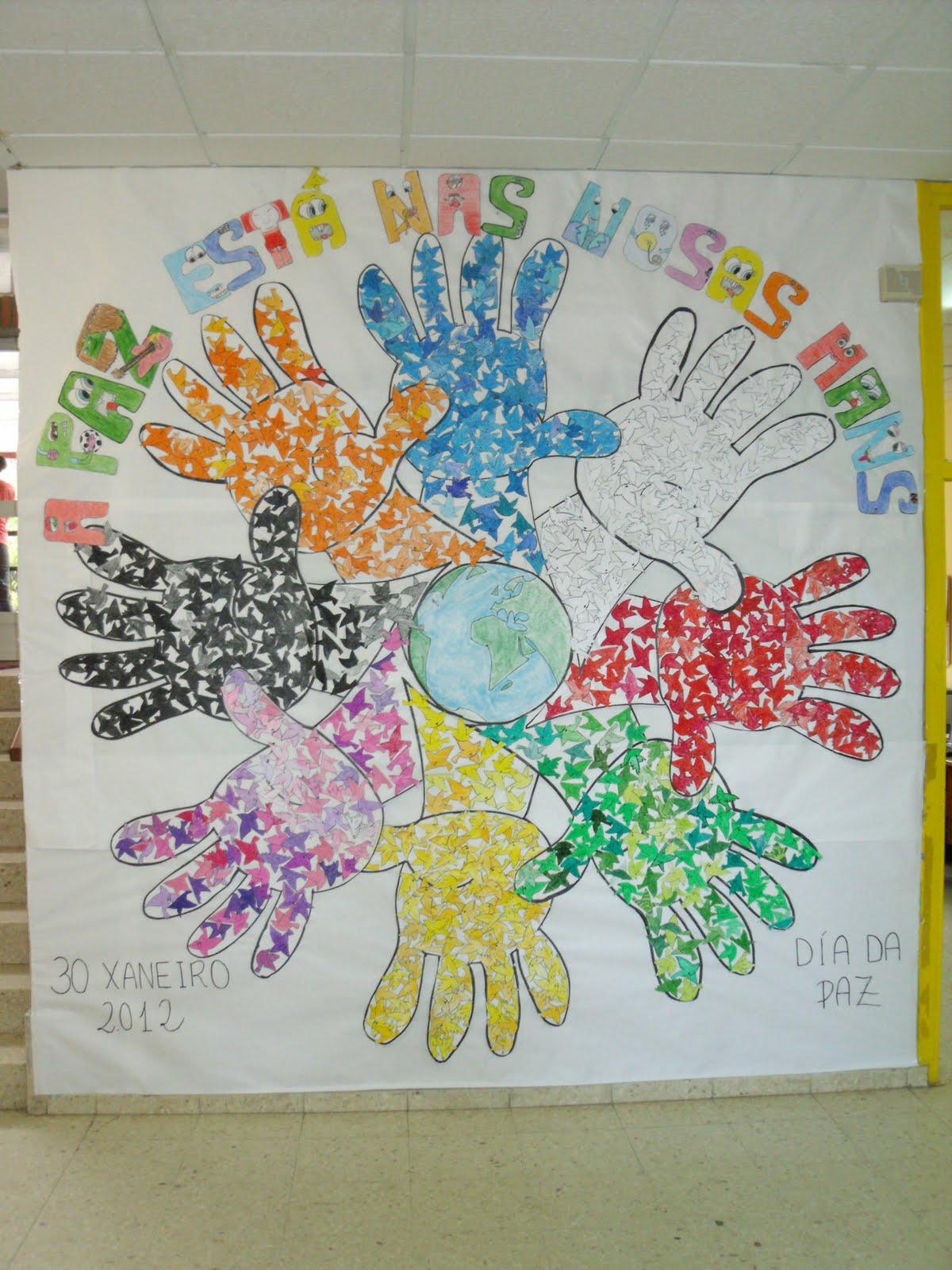 Actividades extraescolares san tom mural da paz a paz for El mundo de la decoracion