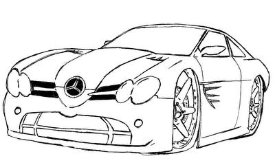 Desenhos de Ferrari para Colorir: Carros para Imprimir e