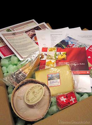 Käsepaket Käse aus der Schweiz