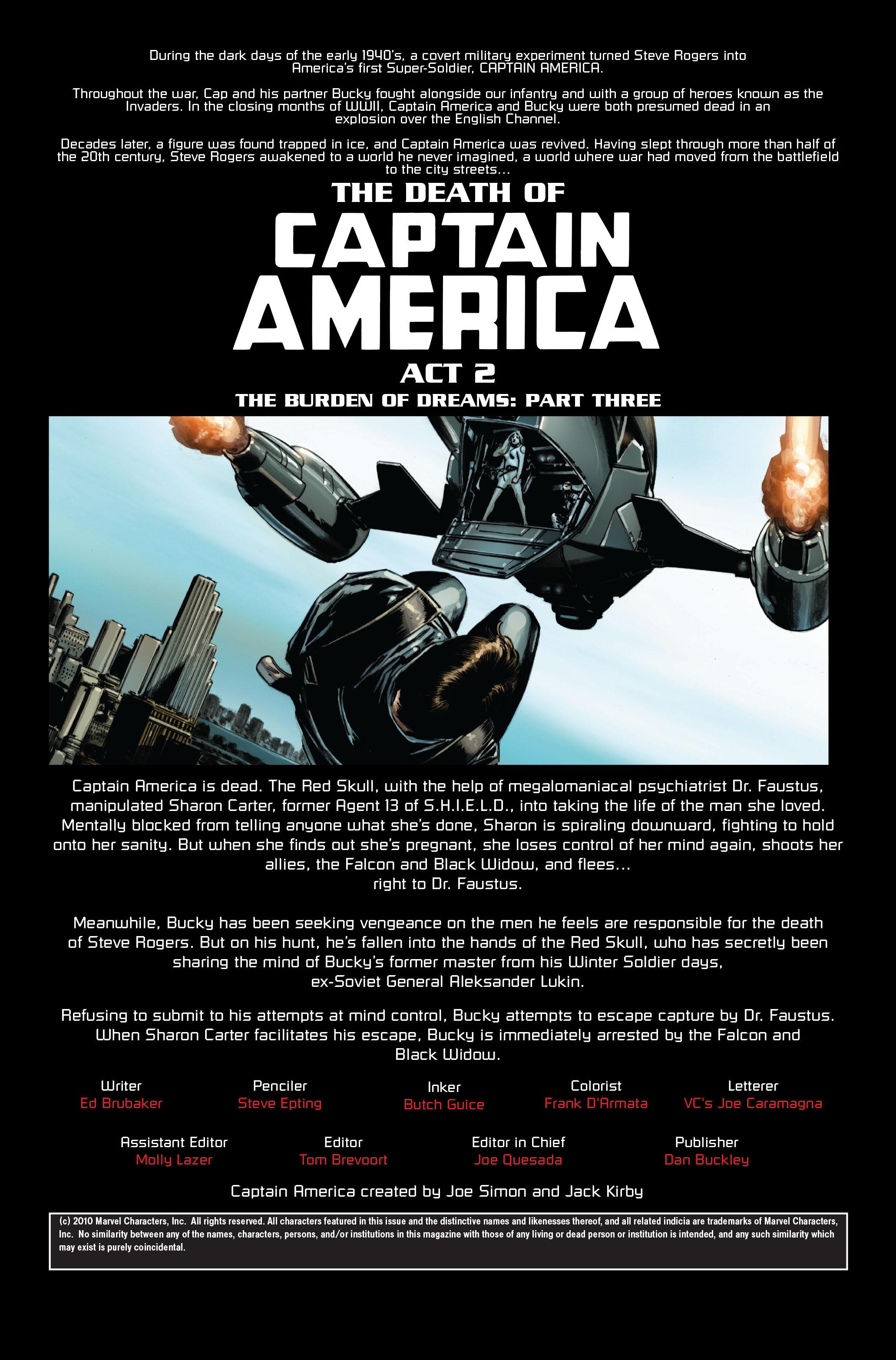 Captain America (2005) Issue #33 #33 - English 2