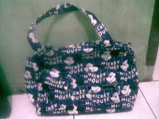 tas wanita mickey biru