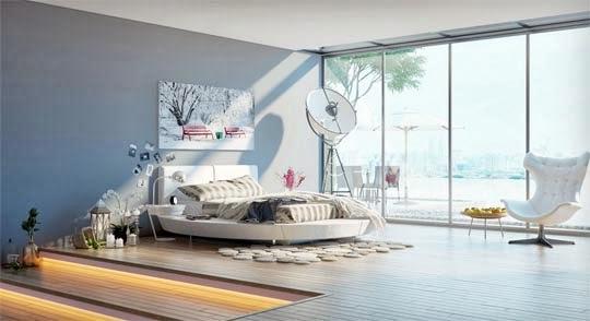 decoração-quarto-casal-cama-redonda