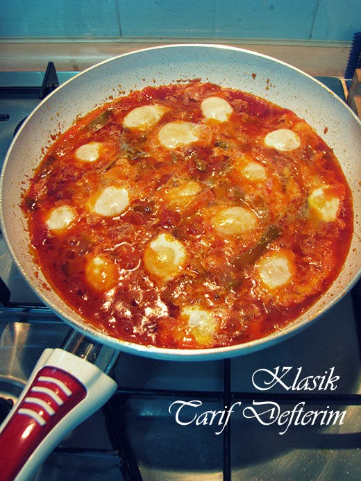 Step by step Red Pepper with Quail Eggs Recipe, with photos