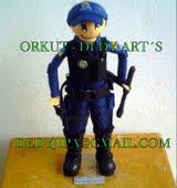 Policial de eva... 70 cm
