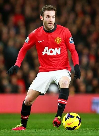 Juan Mata Manchester United Playmaker 2014