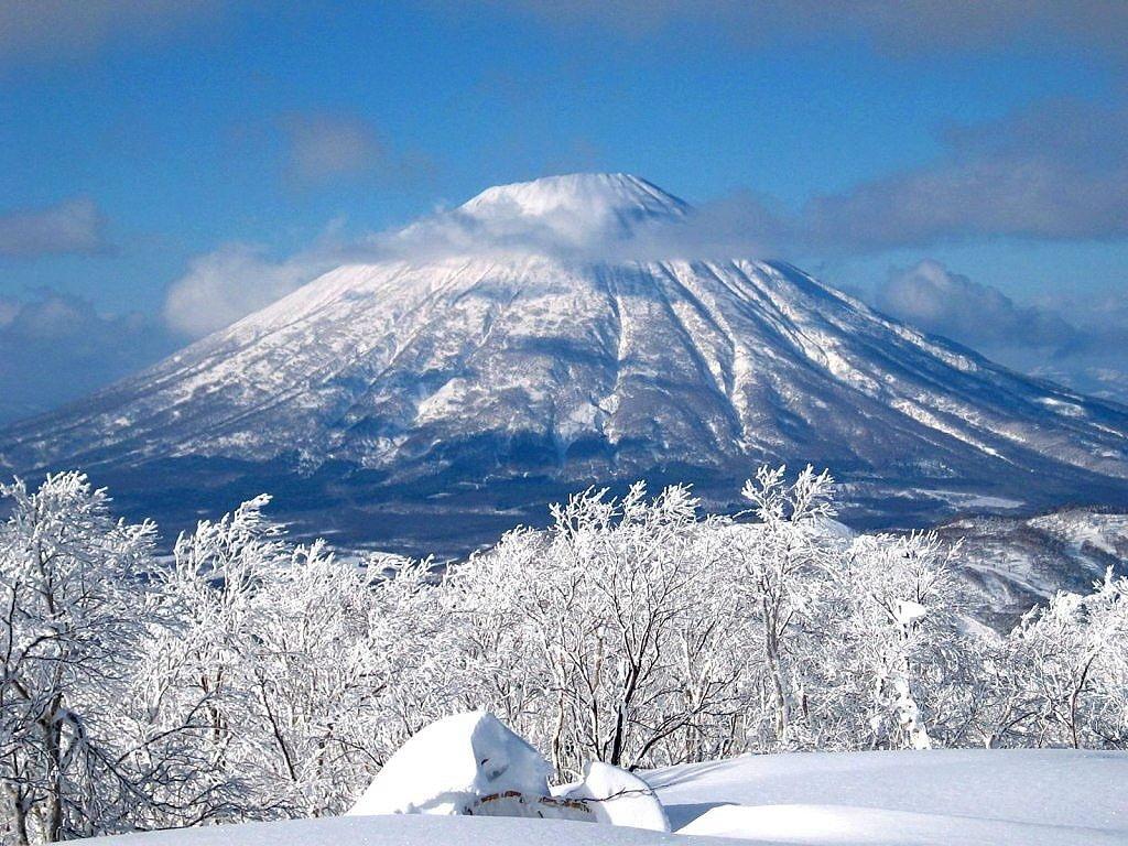 Image result for núi phú sĩ mùa đông